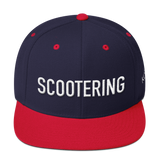 Scootering Snapback with White Logo