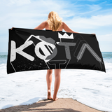 Kota Crown Beach Blanket