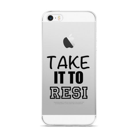 Take it to Resi iPhone case