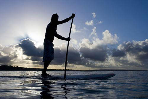 Stand Up Paddle Boarding the Obvious Winter East Coast Water Activity