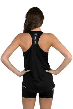 Female Singlet - Black
