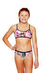 OHANA GIRLS KIANA TWO PIECE - Pink