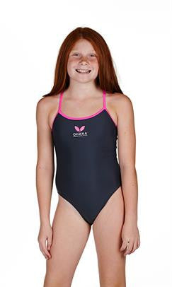 Ohana Girls Kohala Spirit - Keyhole Back Training One Piece