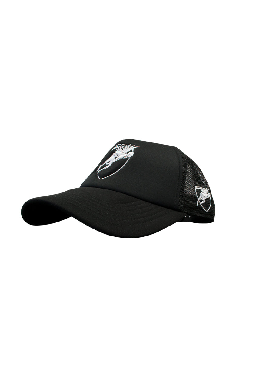 Engine Trucker Hat Black