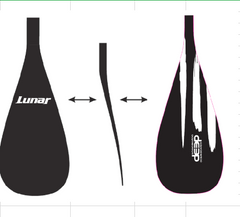 Lunar SUP Paddle - Deep Model - Fixed