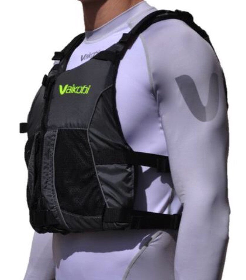 Vaikobi Grey / Fluro PFD- New 2017