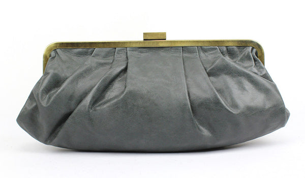 Hamptons Clutch Bag in licorice