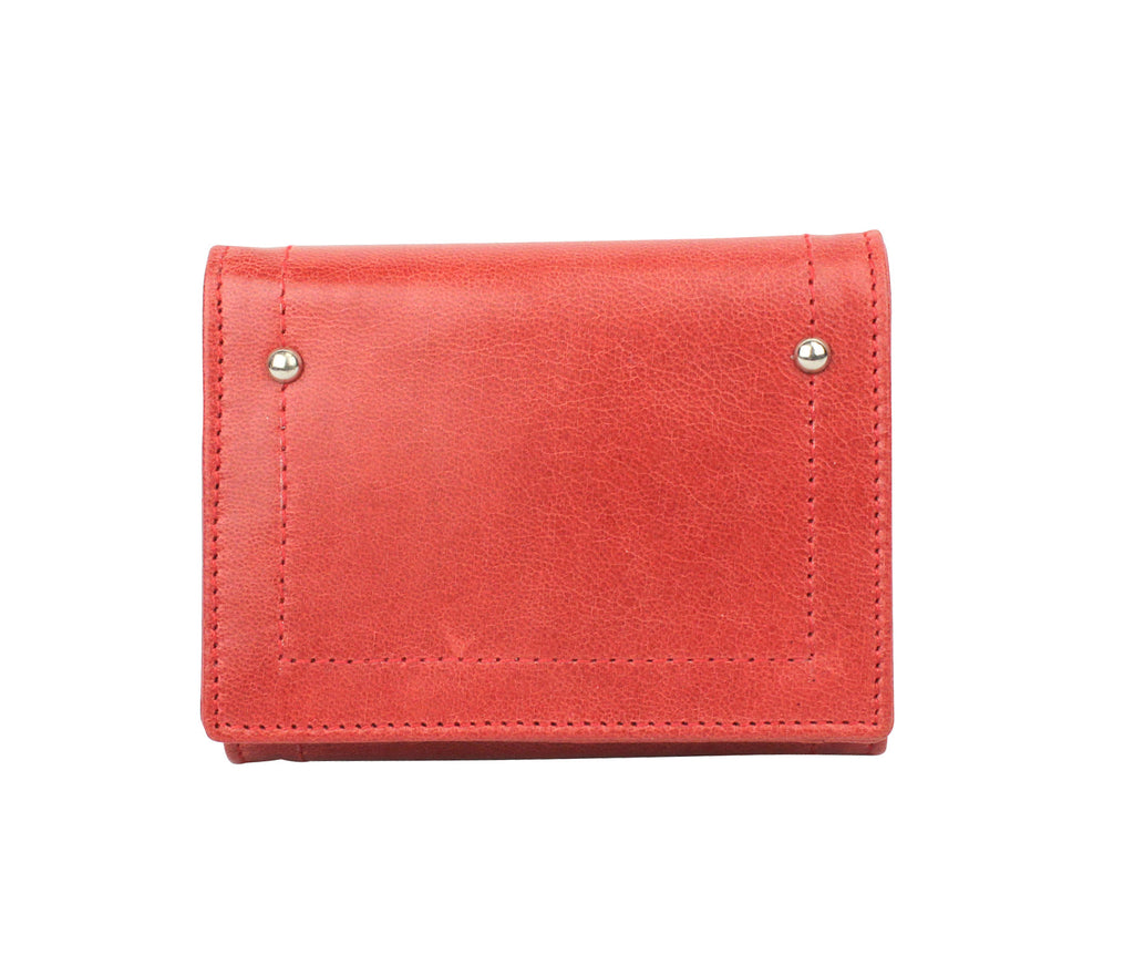 Hudson wallet in Cherry