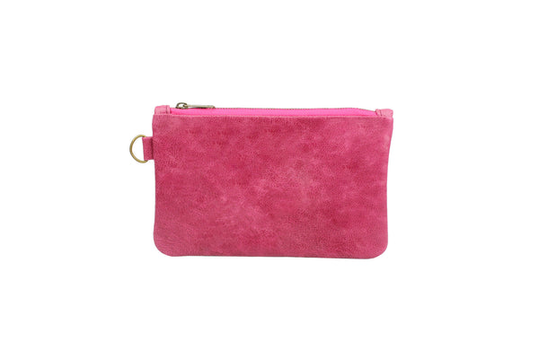 Dakota Pouch in pomegranite