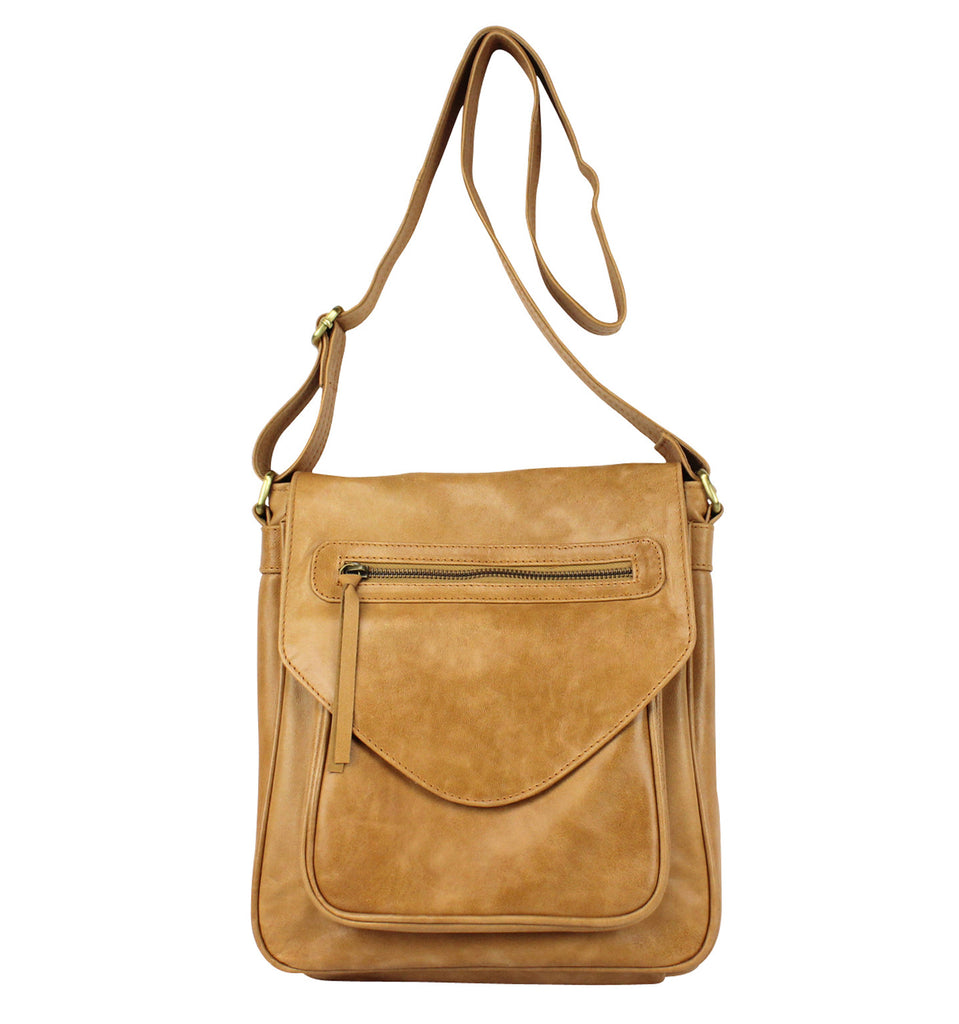 Luxembourg Satchel in honey