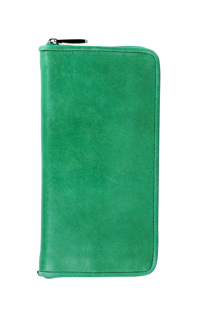 Lyon zip wallet in mint