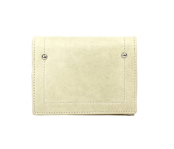 Hudson wallet in Milk