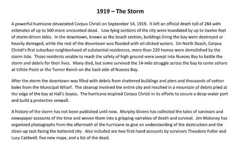 1919 - The Storm - Centennial Edition