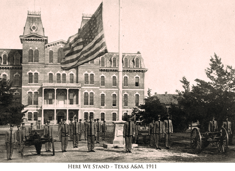 Here We Stand - Texas A&M, 1911