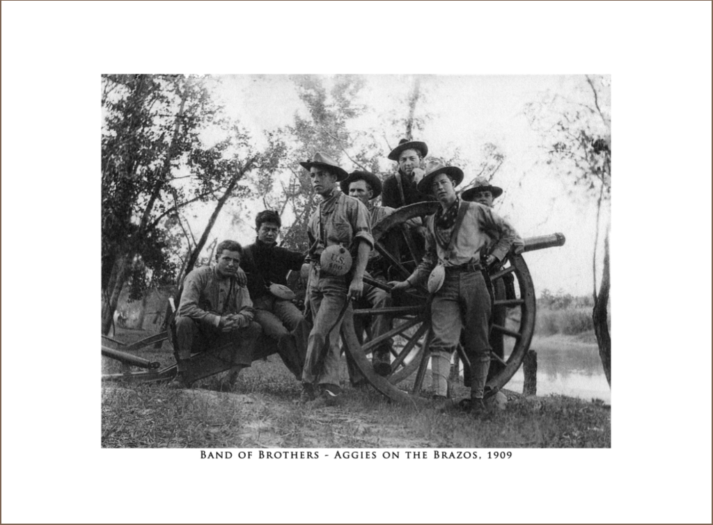 Band of Bothers - Aggies on the Brazos, 1909