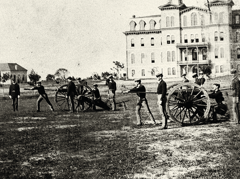 Come And Take It - Texas A&M, 1885