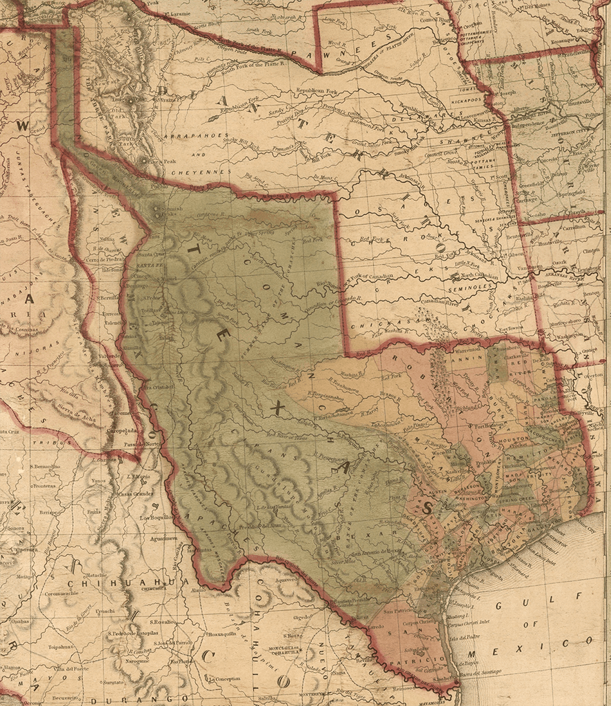 The Great State of Texas - 1846