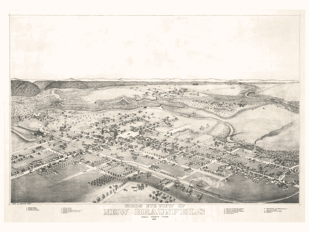 New Braunfels in 1881