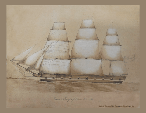 Sloop-of-war Austin - 1841
