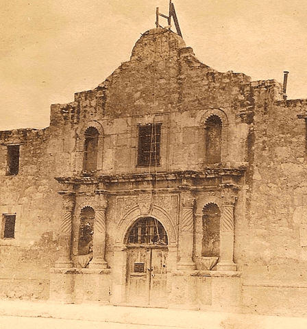 The Alamo Rescued - 1912