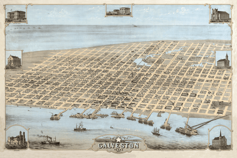 Galveston in 1871