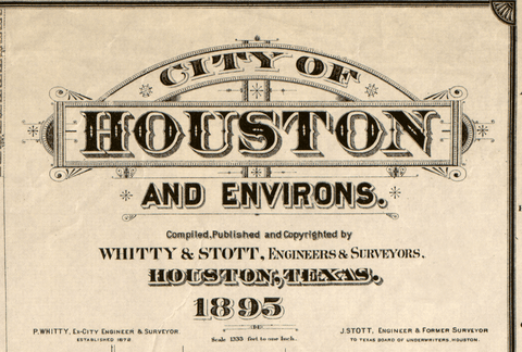 Houston, Texas - 1895