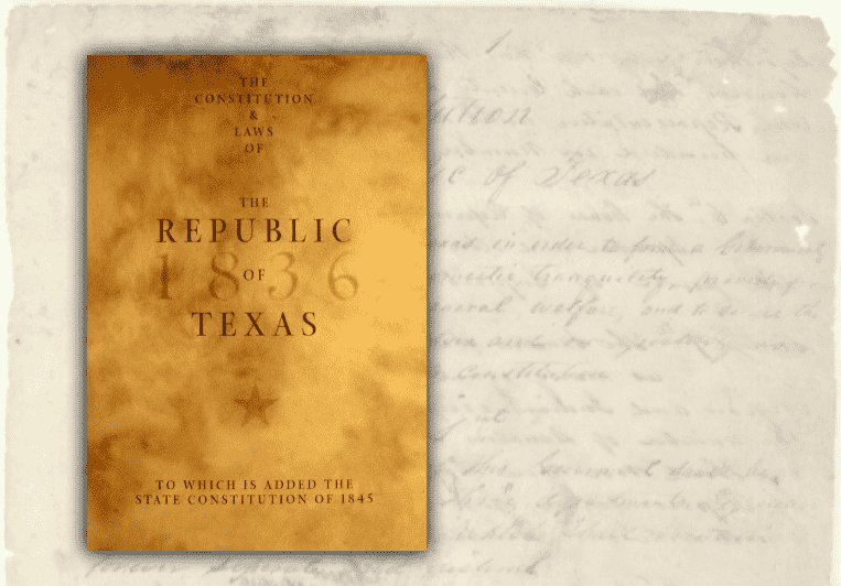 The Constitution and Laws of the Republic of Texas