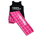 Eat. Sleep .Breathe. Volleyball Tank Top And Pant Gift Set