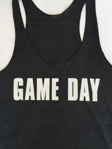 Game Day Racerback Womens Tank Top