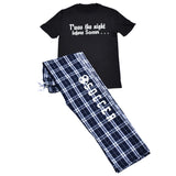 T'was The Night Before Soccer Short Sleeve and Pant Gift Set