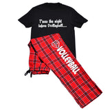 Twas the Night Before Volleyball Short Sleeve and Pant PJ Gift Set