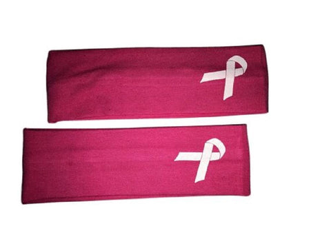 Breast Cancer Awareness Pink Headbands