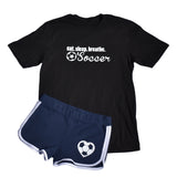 Eat Sleep Breathe Soccer Short Sleeve Tee and Matching Short Set
