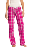 Plaid Cotton Soccer Pants with Headband