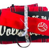 I'd Rather Be Playing Volleyball Short, Black Tee and Volleyball Headband Gift Set