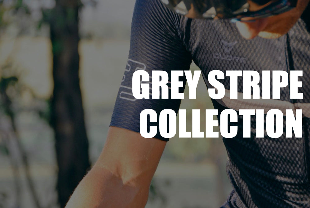 Navy Grey Stripe