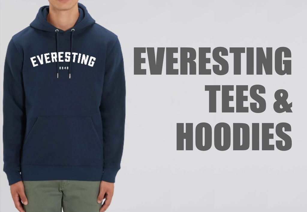 Everesting Tees and Hoodies
