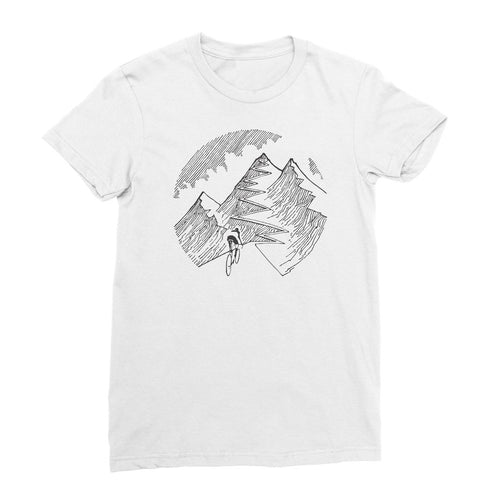 Everesting Illustration Womens Tee