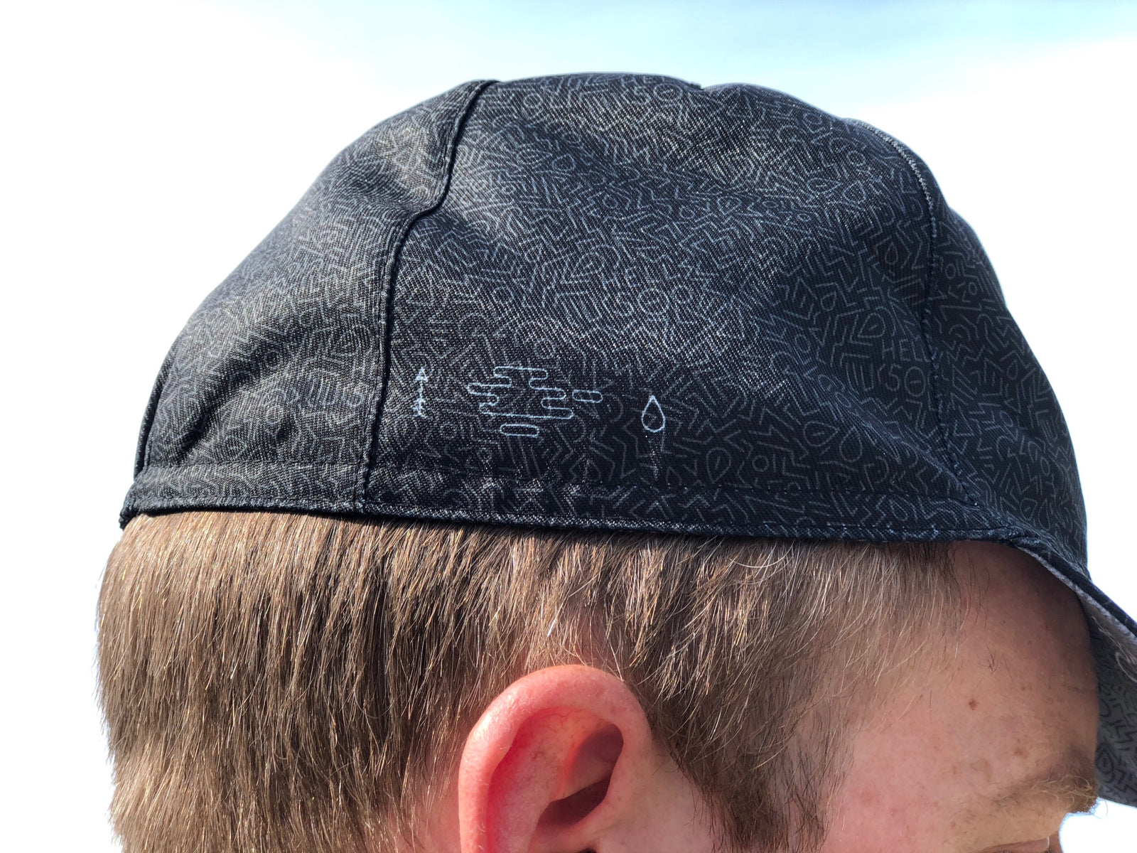 BLACK PATTERN HELLS CAP