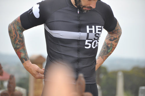 HELLS 500 GREY STRIPE JERSEY