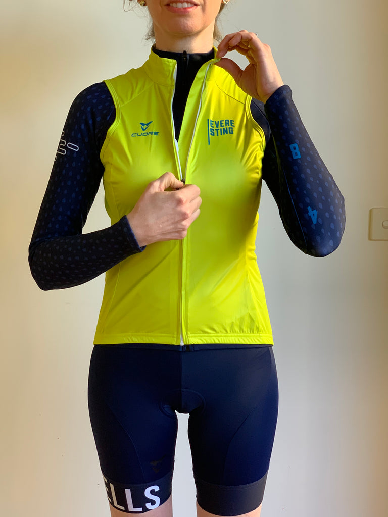 EVERESTING FINISHER GILET LIME PUNCH WOMENS