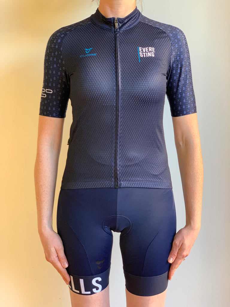 EVERESTING FINISHERS JERSEY NAVY WOMENS