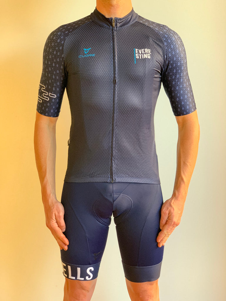 EVERESTING FINISHERS JERSEY NAVY