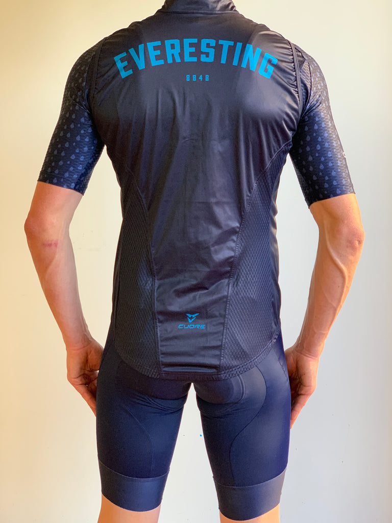 EVERESTING FINISHER GILET NAVY