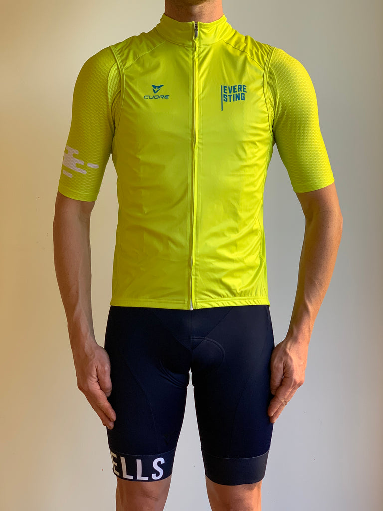 EVERESTING FINISHER GILET LIME PUNCH