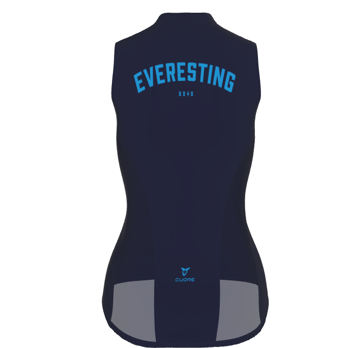 EVERESTING FINISHER GILET NAVY WOMENS