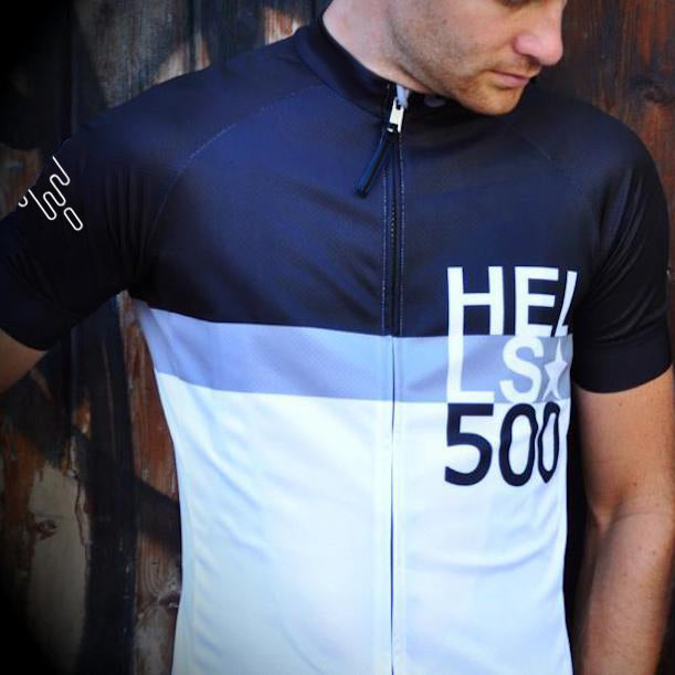 THE HELLS 500 HERITAGE  GREY STRIPE JERSEY