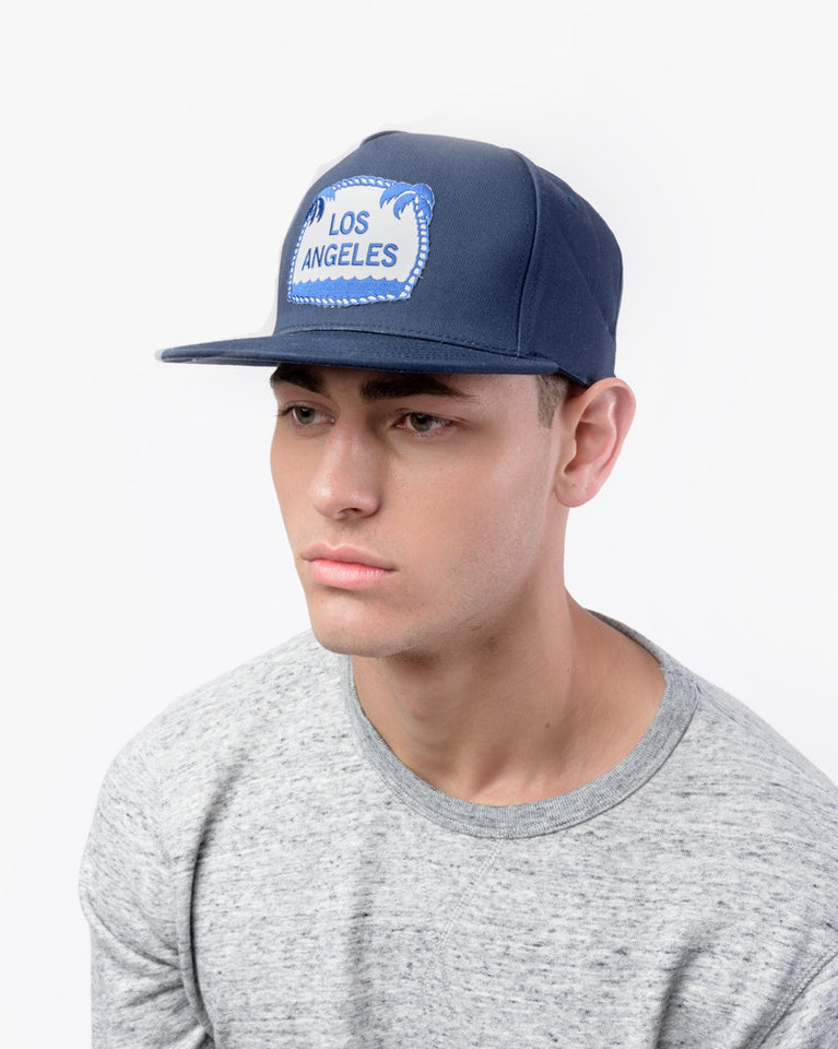 Los Angeles Ball Cap in Navy