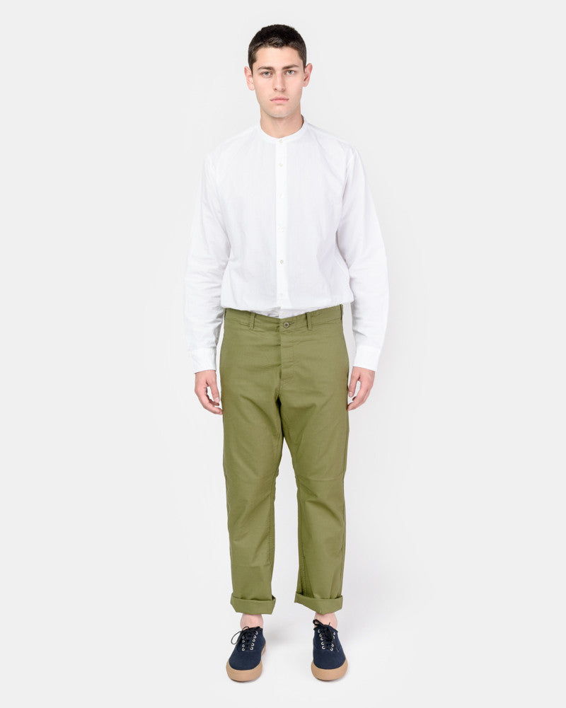 French Military Work Trouser in Olive SMOCK Man - Mohawk General Store