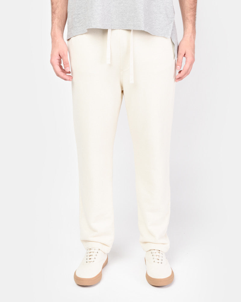 Sweatpants in Cream by SMOCK Man- Mohawk General Store
